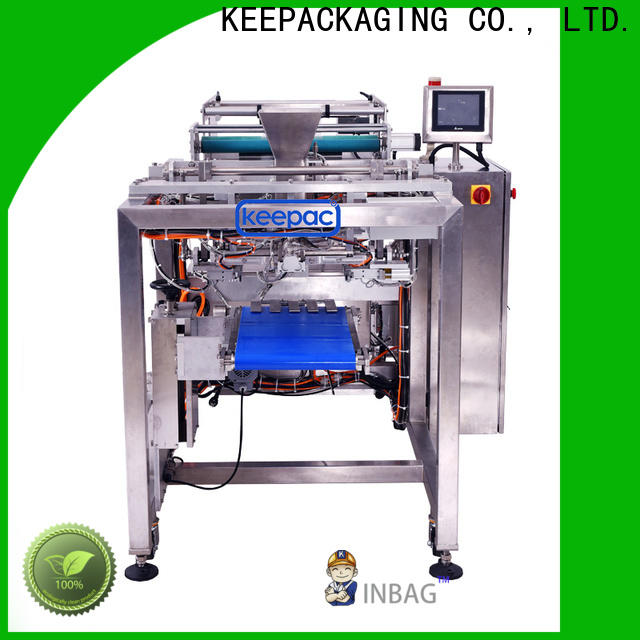 Keepac New form and fill packaging machines Suppliers for zipper bag
