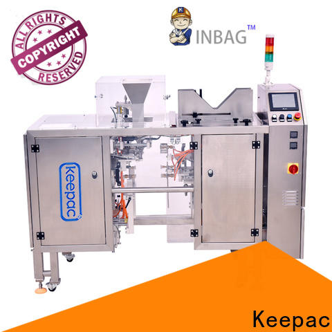 Keepac Best automatic grain packing machine manufacturers for pre-openned zipper pouch