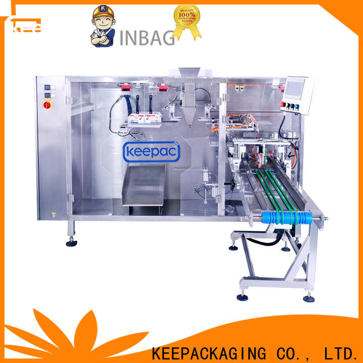 Keepac Top stand pouch packing machine factory for zipper bag