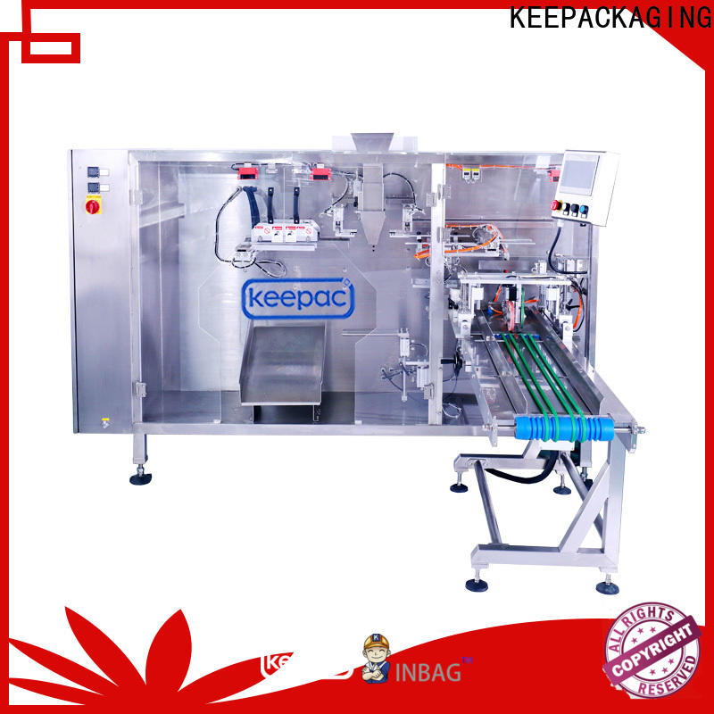 High-quality pouch packing machine easy to clean for business for zipper bag