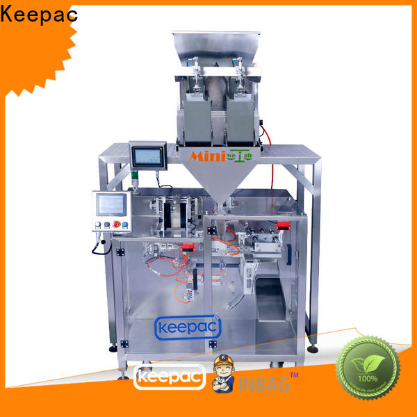 Keepac linear pick fill seal machine company for food
