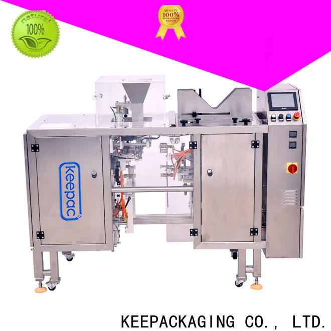 Keepac mini automatic grain packing machine Suppliers for beverage