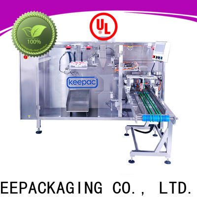 High-quality pouch packing machine easy to clean factory for standup bag