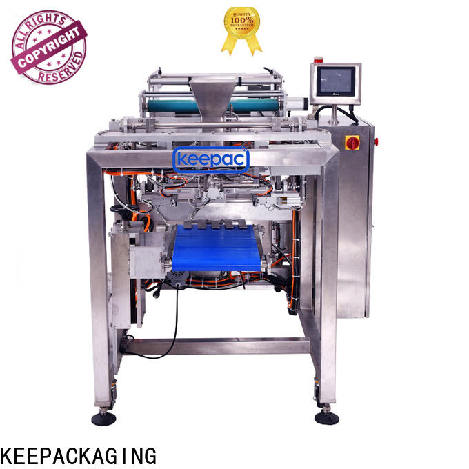 Keepac easy running food plate packing machine manufacturers for standup pouch