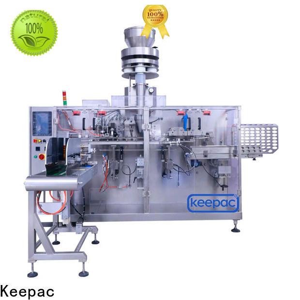 Keepac corner horizontal packing machine company for beverage