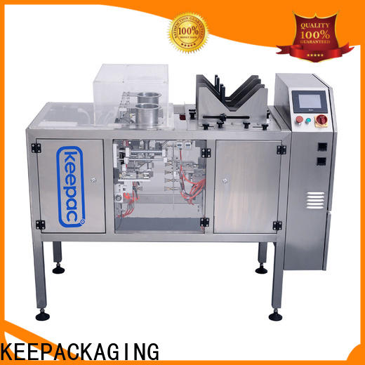 Keepac multi bag format mini doypack machine factory for beverage