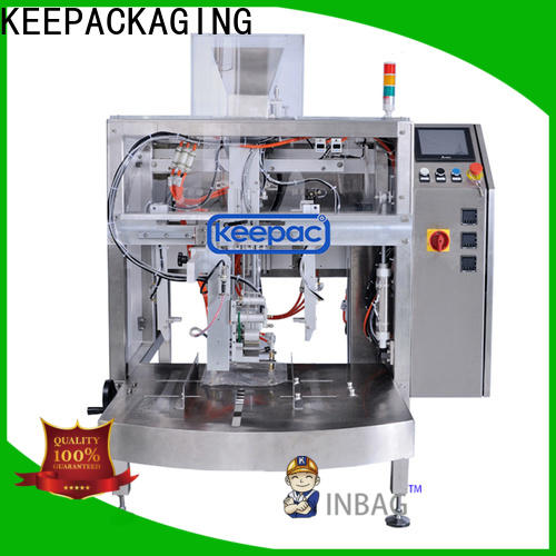 Keepac High-quality automatic grain packing machine factory for beverage