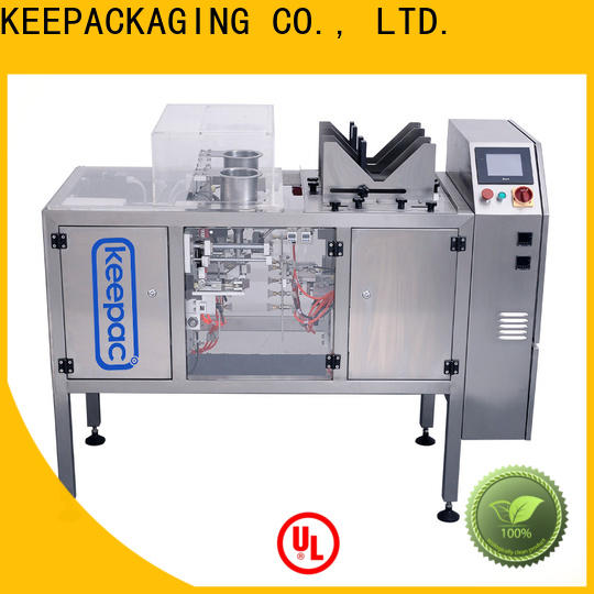 Keepac High-quality grain packing machine company for pre-openned zipper pouch