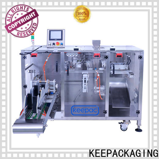 Latest pick fill seal machine linear factory for zipper bag