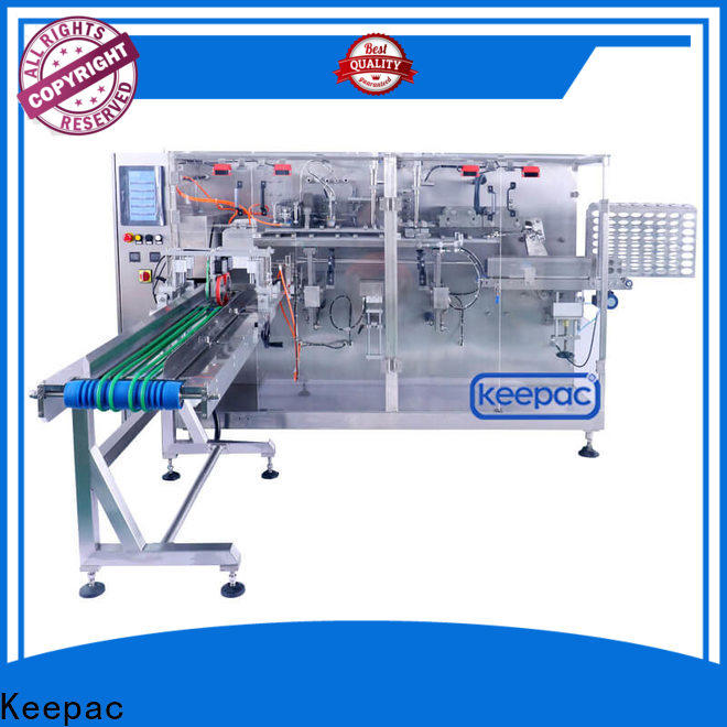 Keepac New horizontal packaging machine for business for food