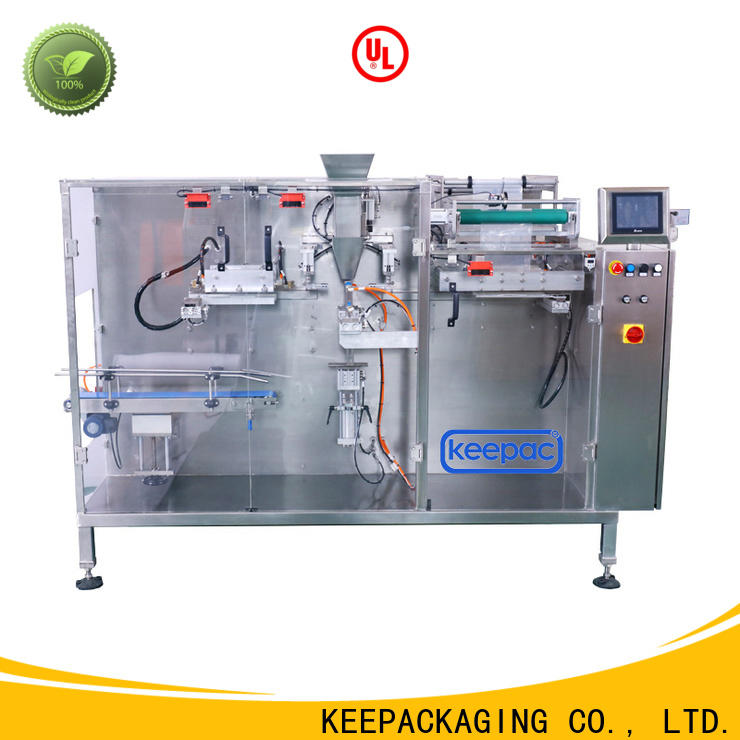 Wholesale horizontal packaging machine spout factory for commodity