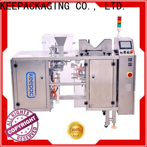 Keepac mini doypack machine for business for food