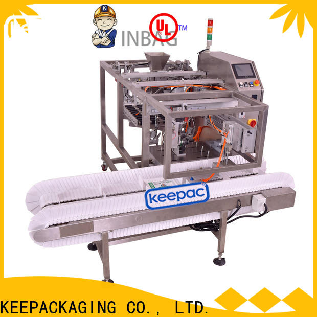 Keepac mini small food packaging machine Suppliers for beverage