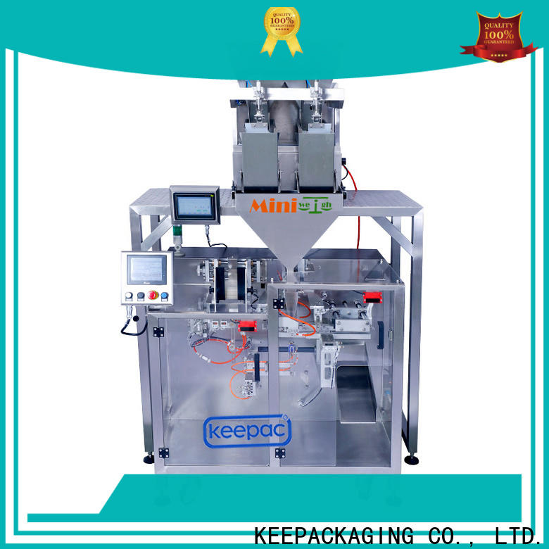 Top pick fill seal machine staight flow design company for standup pouch
