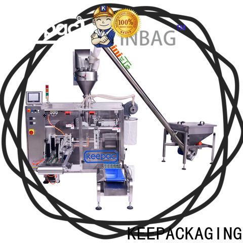 Keepac linear automatic powder packing machine company for standup pouch