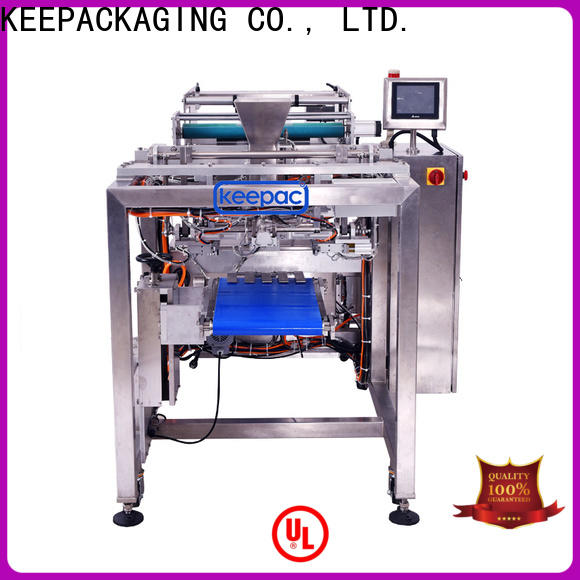 Keepac PE tubular milk filling and sealing machine company for zipper bag