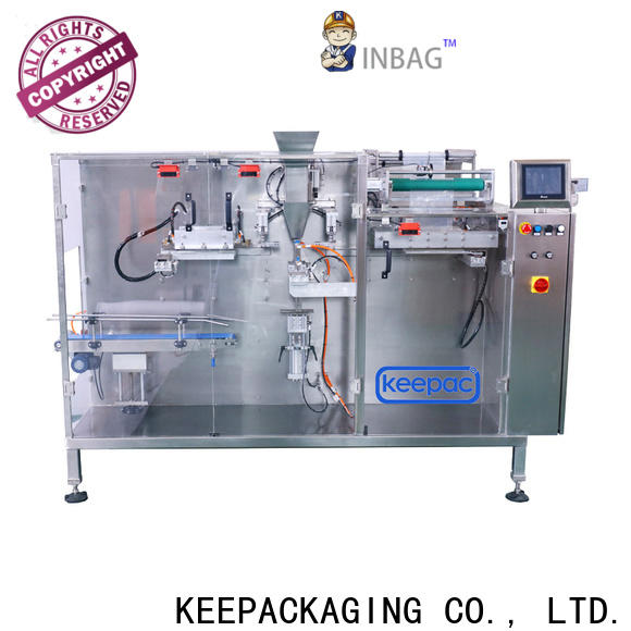 Keepac spout automatic tea packing machine for business for beverage