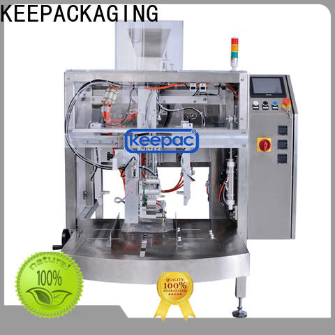 Keepac High-quality grain packing machine for business for pre-openned zipper pouch