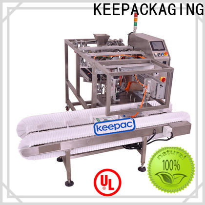 Keepac Wholesale snack food packaging machine Supply for pre-openned zipper pouch