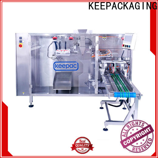 Keepac quick release stand pouch packing machine for business for zipper bag