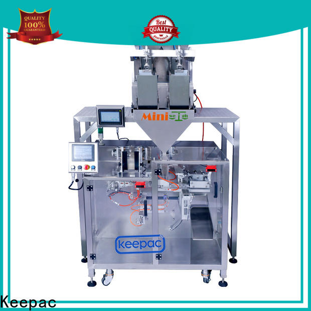 Wholesale pick fill seal machine staight flow design company for zipper bag
