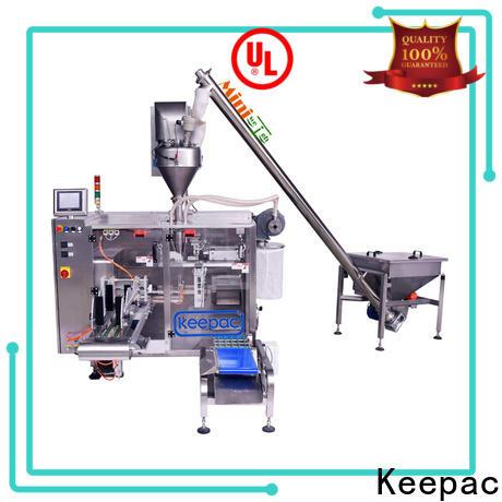 Keepac linear milk powder packing machine manufacturers for zipper bag