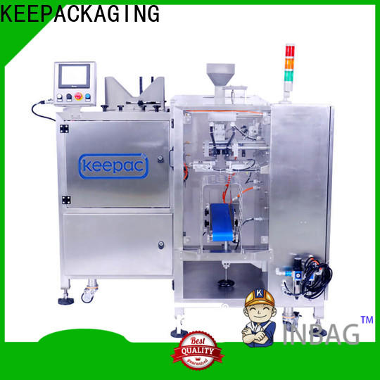 Keepac different sized small food packaging machine factory for pre-openned zipper pouch