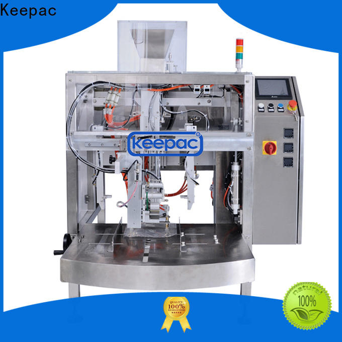 Keepac Top food packaging machine manufacturers for pre-openned zipper pouch