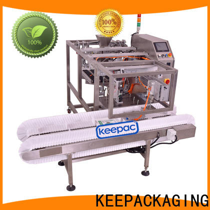 Keepac different sized doypack machine for business for pre-openned zipper pouch