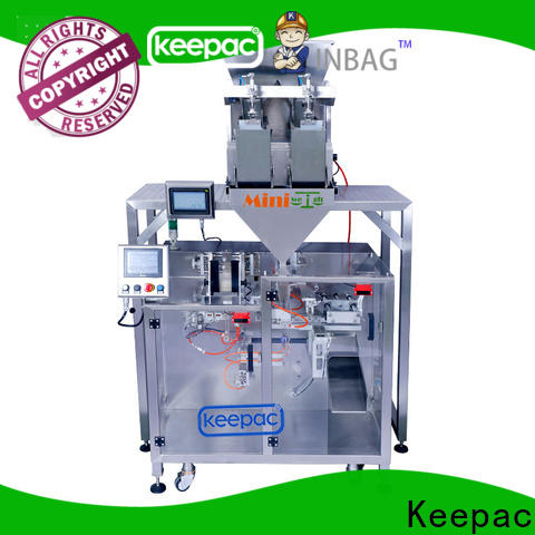 Keepac 8 inches automatic powder packing machine company for standup pouch
