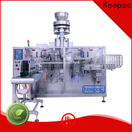 Top industrial packaging machines staight flow design factory for food