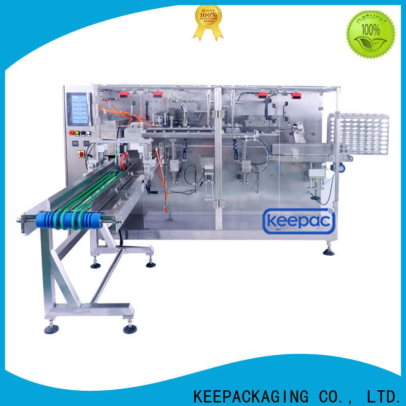 Keepac corner horizontal packaging machine Supply for commodity