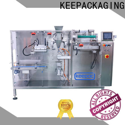 Keepac linear horizontal packing machine for business for commodity