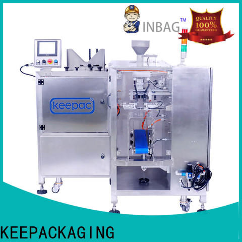 Keepac quick release grain packing machine manufacturers for beverage