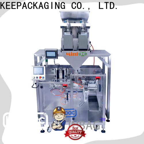Keepac linear automatic powder packing machine factory for zipper bag