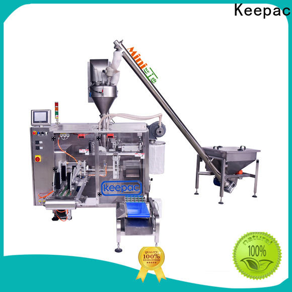 Keepac duplex milk powder packing machine manufacturers for zipper bag