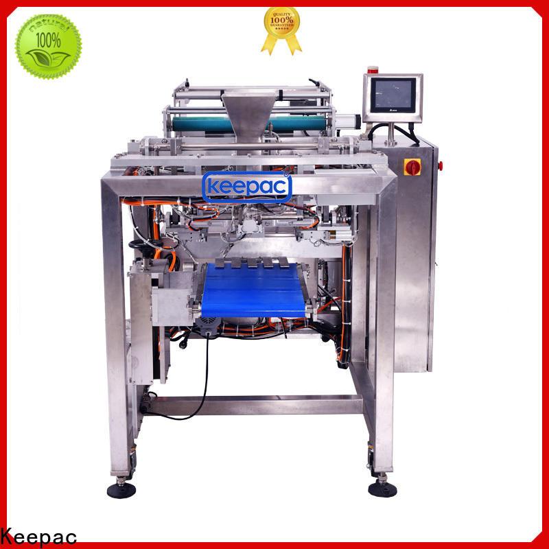 Keepac PE tubular seal plastic bags machine Supply for food