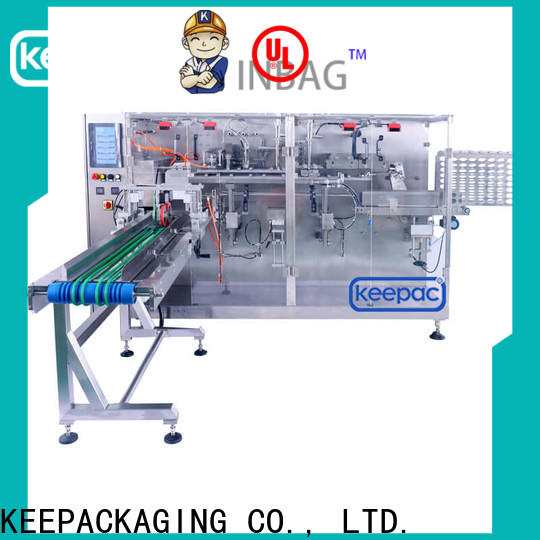 Custom packaging machine design spout company for commodity