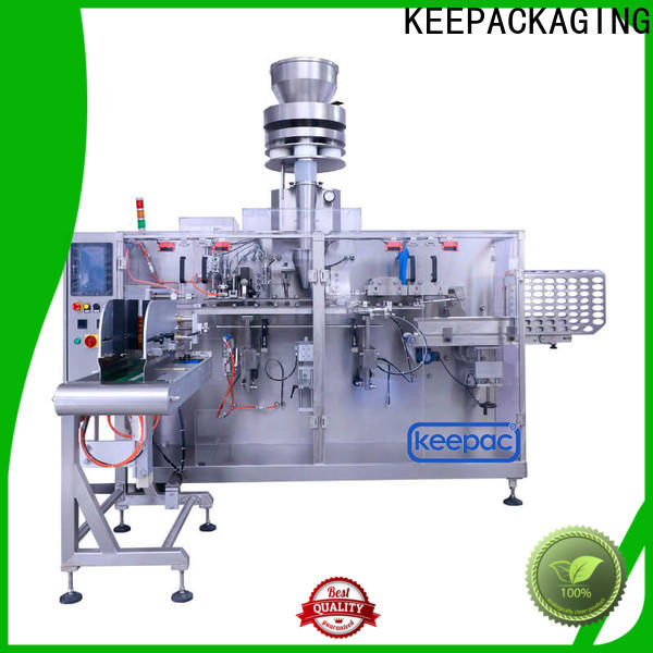 Keepac spout industrial packaging machines company for beverage