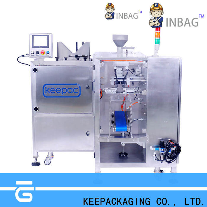 Keepac Latest automatic grain packing machine manufacturers for pre-openned zipper pouch