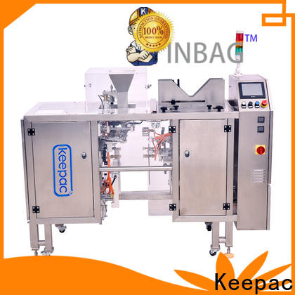 Keepac stainless steel 304 mini doypack machine Suppliers for food