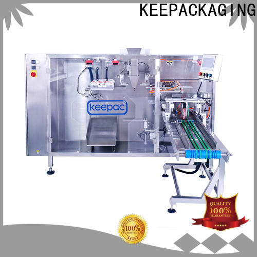 New liquid pouch packing machine easy to clean for business for 3 sides sealed pouch