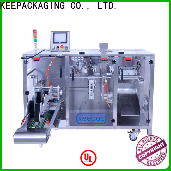 Keepac linear milk powder packing machine for business for standup pouch
