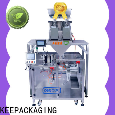 Keepac 8 inches automatic powder packing machine for business for food