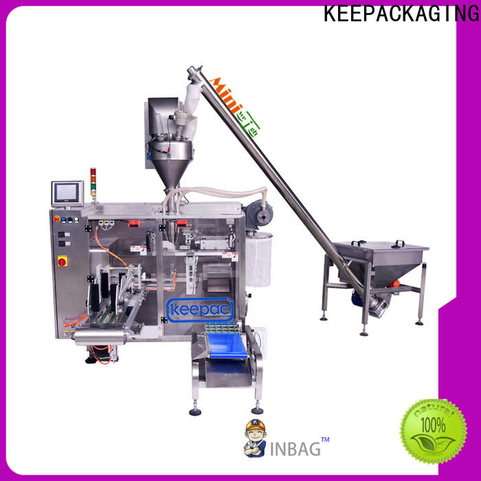 Top form fill seal machine 8 inches company for zipper bag