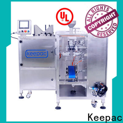 Keepac different sized grain packing machine Suppliers for pre-openned zipper pouch