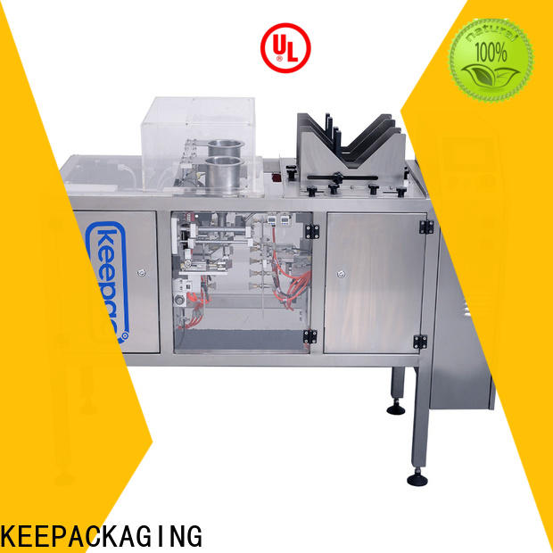 Keepac different sized chips packaging machine factory for beverage