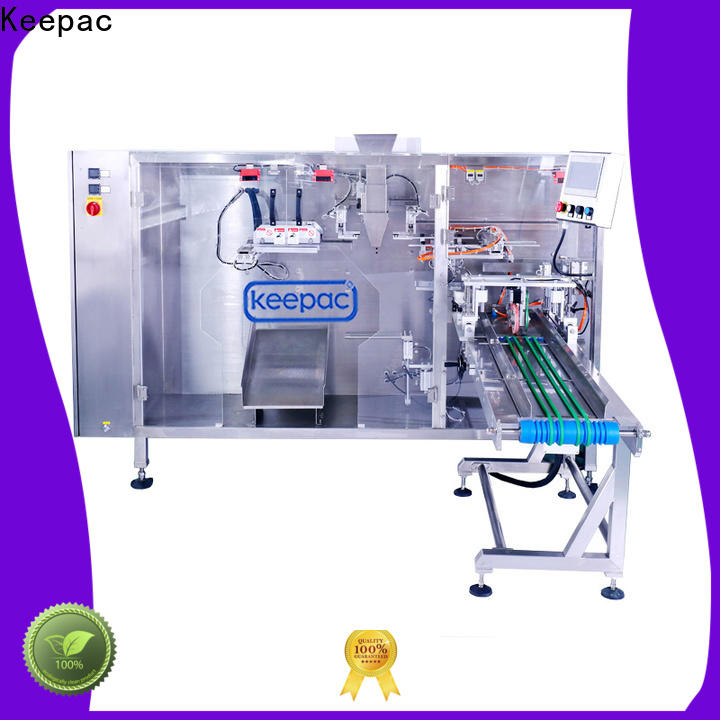 Latest plastic pouch packing machine straight flow design manufacturers for 3 sides sealed pouch