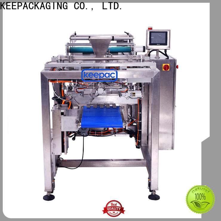 Keepac minitube aseptic filling for business for standup pouch