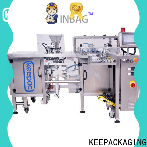High-quality small food packaging machine mini Supply for pre-openned zipper pouch